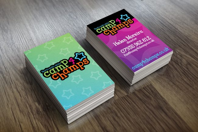 Camp4Champs Business Card